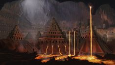 Dwarven Caverns by Elderscroller.deviantart.com on @deviantART