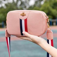 Casual Mini Leather Crossbody Bag