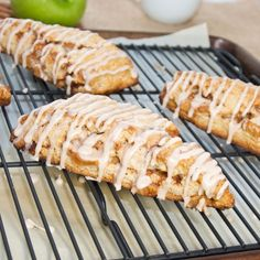 Apple Fritter Scones {Sweet Pea's Kitchen}