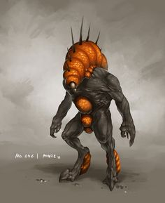 Monster No. 046 by Onehundred-Monsters on DeviantArt
