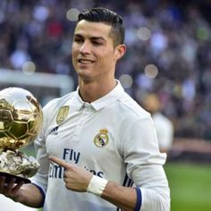 Cristiano Ronaldo is widely expected to retain the Ballon d'Or at the 2017 award ceremony in Paris on Thursday. Role Player, Best Player, Basketball Quotes, Soccer, Basketball Hoop, Basketball Court Layout, Ronaldo Junior, Ballon D'or, Cristiano Ronaldo Cr7