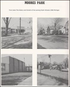 https://flic.kr/p/Ba3zaZ | Moores Park School--from 1966 Lansing Schools History book-1 of 2-MI