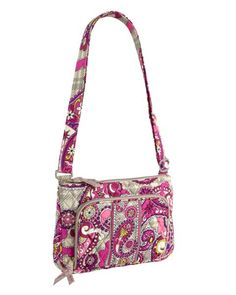 b2b567191e Vera Bradley Little Hipster in Paisley Meets Plaid description How could  our popular Hipster bag become even more coveted