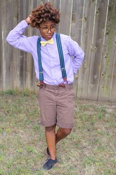 Suspenders, Bow-Tie, Shorts, Queer Style, Lesbian Fashion