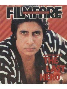 Amitabh Bachchan on filmfare(April 1987) issue #bollywoodirect #bollywood #superstar #legend #greatest #cinema
