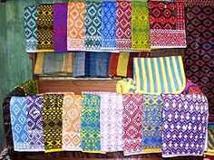 I love the textiles of Chiapas. These are from San Andres Larrainzar.
