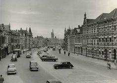 Wilhelminastraat gezien vanaf het begin van de ginnekenweg hoek baronielaan