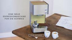 ZURIGA express ist die neue Schweizer Kolben-Maschine für zuhause. Klein, hochwertig und schön. Damit Kaffee wieder wie in Italien schmeckt.