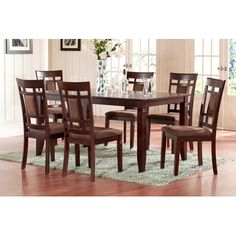 oakley 7 piece dining set
