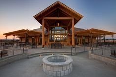 Built by Riverdell Construction- Kriselle Cellars.  Timber Frame