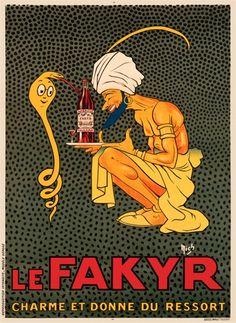 Le Fakyr Poster France