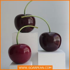 Delicate Decorative Fruit Fiberglass Cherry Sculpture, View fiberglass cherry, SOARPEAN Product Details from Xiamen Soarpean FRP Co., Ltd. on Alibaba.com