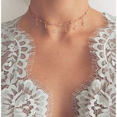Next up... Delicate dainty chokers #ruegembon #comingsoon