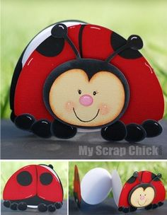 Ladybug Critter Book: click to enlarge