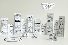 City, Of Paper and Things