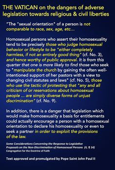 What does the catechism say about homosexuality