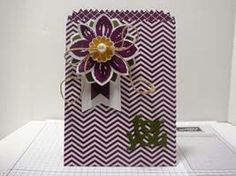 Peanuts and Peppers Papercrafting: New Occasions Catalog Sneak Peek! - Stampin' Up! Petal Potpourri Mini Treat Bag