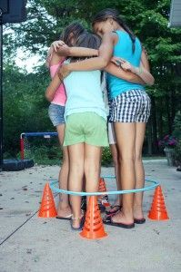 personal space activity COOPERATIVE ACTIVITIES FOR KIDS: RABBIT HOLE