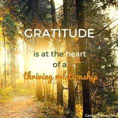 Pause to be #grateful for the gifts in your life, allowing your heart to expand with love! http://www.CenterThrive.com