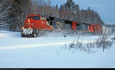 RailPictures.Net Photo: CN 5683 Canadian National Railway GMD SD75I at Parkersville, Ontario, Canada by W. D. Shaw