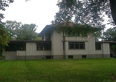 Frank Loyd Wright, drive by this one on a regular basis