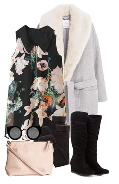 """""""Untitled #114"""" by angiegdurant on Polyvore featuring MANGO, H&M and Quay"""