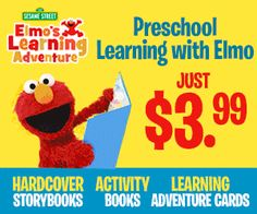 Tri Cities On A Dime: NEW Offer (great activities for summer!): ELMO'S L...