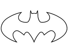 5 Best Images Of Printable Batman Logo Stencil