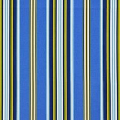 The K3061 NAUTICAL STRIPE upholstery fabric by KOVI Fabrics features Beach or Nautical, Stripe pattern and Dark Blue, Gold or Yellow, Light Blue, White or Off-White as its colors. It is a Denim or Duck or Twill, Print, Outdoor and Indoor type of upholstery fabric and it is made of 100% Acrylic material. It is rated Exceeds 25,000 Double Rubs (Heavy Duty) which makes this upholstery fabric ideal for residential, commercial and hospitality upholstery projects. This upholstery fabric is 54…