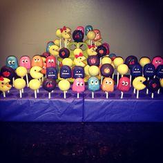Pac-Man Cakepops!