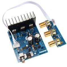 US$9.72 TDA2030A 2.1 Subwoofer Amplifier Board 3-Channel Electronics Module