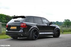Porsche Cayenne BiTurbo with VAD Widebody Kit and 360 Forged Concave Wheels