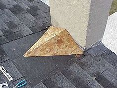 Article about framing a roof saddle to prevent water leakage where the roof meets a chimney.