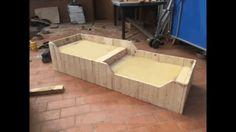 Double Dog Bed from Pallets / Panier à Chiens 2 Places En Bois De Palettes Animal Houses & Supplies