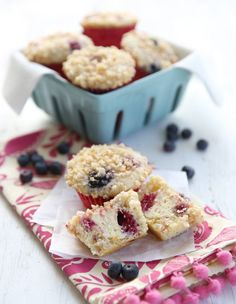 Berry Cheesecake Muf