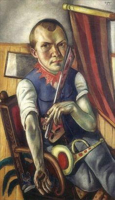 Max Beckmann · Self Portrait as Clown · 1921 · Private Collectiona