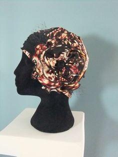 Beanie with flower headband, chemo cap, chemo hat $14.99 etsy.com