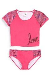 Limeapple 'Los Cabos' Two-Piece Swimsuit (Big Girls)
