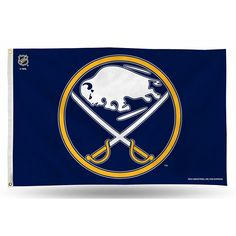 Buffalo Sabres NHL 3in x 5in Banner Flag
