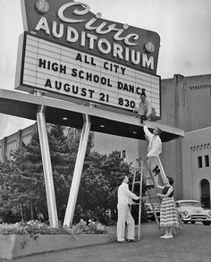 All-city high school dance, 1954 by Seattle Municipal Archives, via Flickr