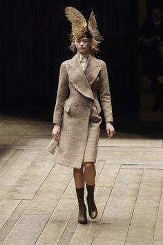Gemma Ward Alexander McQueen F/W 2006