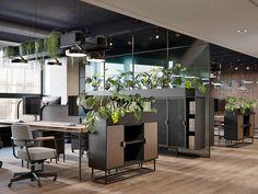 Stylish Paris office Stylish Paris office on Behance Open Office Design, Open Space Office, Industrial Office Design, Corporate Office Design, Corporate Interiors, Office Interior Design, Office Interiors, Home Interior, Corporate Offices