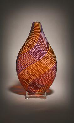 Hermann Lunn Blown Glass (Vessels by Gina Lunn)#
