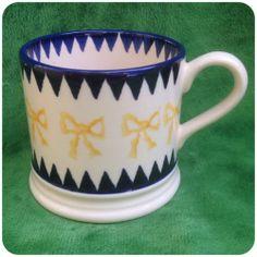 Emma Bridgewater Yellow Bows & Navy Bunting Baby Mug
