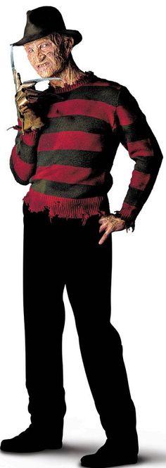 Freddy Krueger Costume, Scary Movies, Horror Movies, Horror Movie Characters, Slasher Movies, Nightmare On Elm Street, Best Horrors, Robert Englund, Halloween 2019