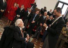 Discurso íntegro de Fernando del Paso en la ceremonia del Cervantes 2016