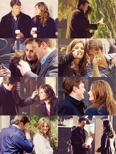 """So it's true. He's my work-husband and I'm his work-wife."" - Stana"