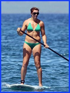 Three-time Olympic gold metal winner Misty May Treanor sports her bikini for a day in Hawaii. Misty May Treanor, Hawaii Homes, Get Skinny, Beach Volleyball, Being In The World, Surf Girls, Beach Pool, Where The Heart Is, Paddle Boarding