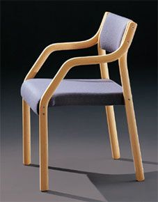 """Laminette"" chair -- Sven Ivar Dysthe, 1952"
