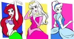 Disney Pop Art, Disney Princess Art, Disney Pixar, Disney Characters, Alternative Disney, Disney Posters, Woodland Creatures, Disney Girls, Princesas Disney